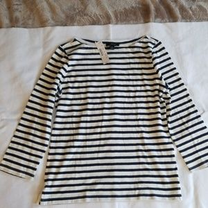NWT J Crew Striped Tee